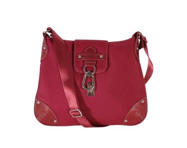 sac bandoulière femme rouge katana