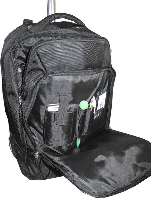 sac à dos roulettes porte pc