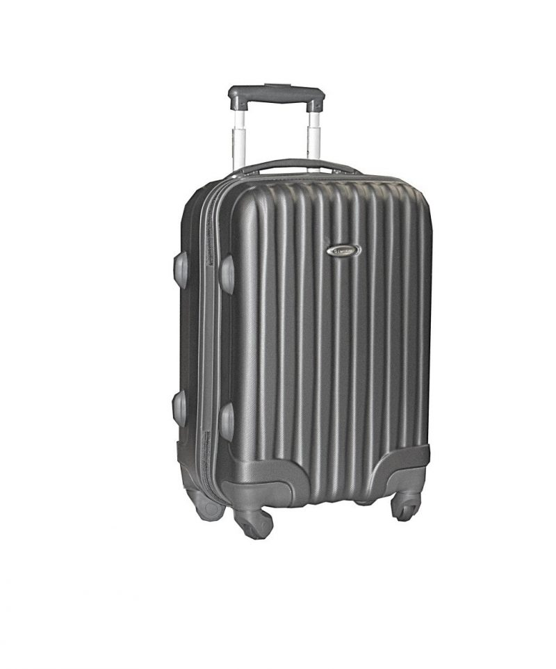 valise cabine rigide 55 cm pas cher Snowball noir