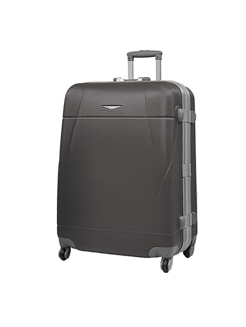 grande valise rigide pas cher 75 cm Madisson noir 87004