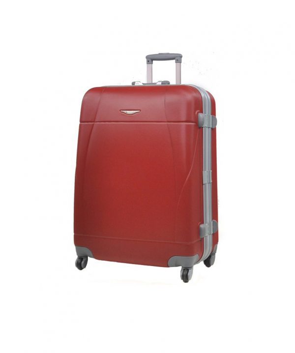 valise grande taille pas cher 75 cm Madisson rouge
