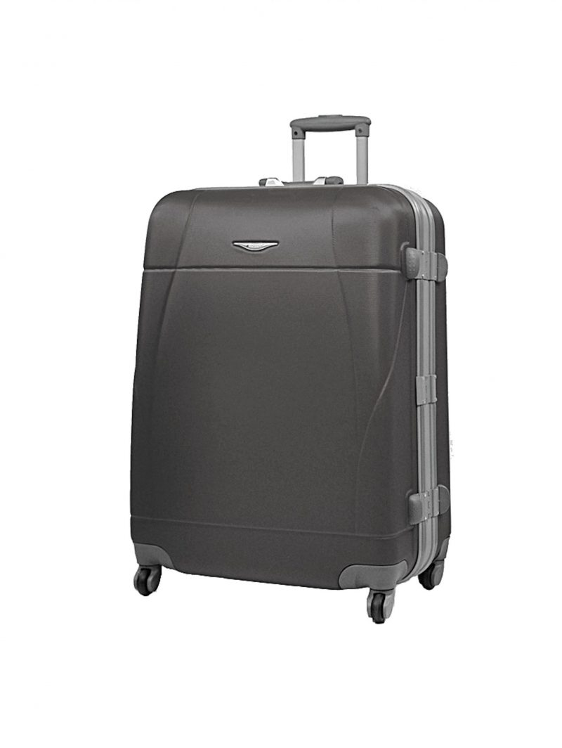 valise rigide 75 cm madisson pas cher noir 87004