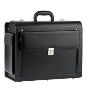 Pilot case Pc Snowball noir