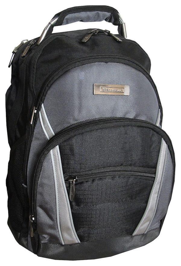 sac à dos pour ordinateur portable gris