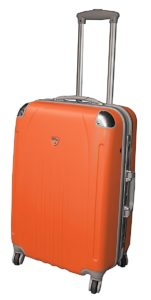 valise rigide trolley 4 roulettes 60 cm