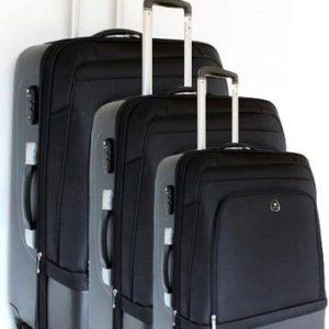 Ensemble de 3 valises de voyage rigides
