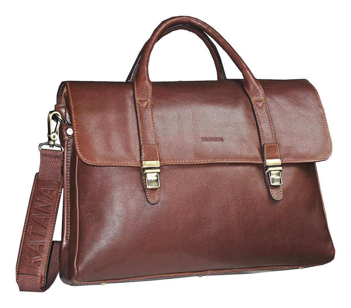 magasin en ligne f8b0f 23758 Cartable cuir pc pour femme katana