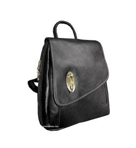 sac à dos en cuir katana pour femme pas cher noir