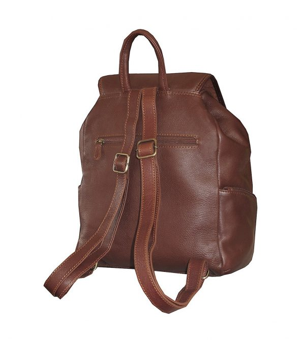 sac à dos en cuir pas cher katana marron avenuedusac