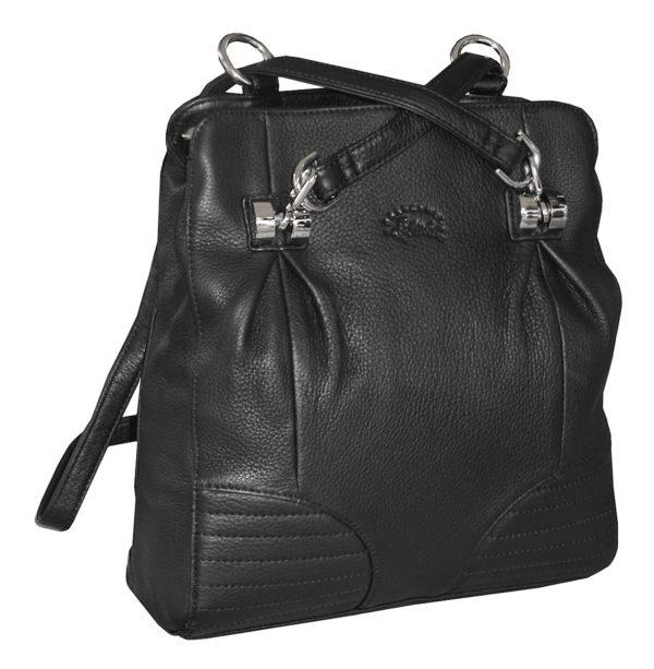 sac à dos à main en cuir