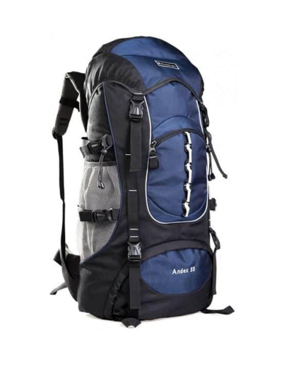 sac à,dos de randonnée bleu snowball