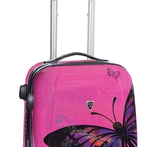valise cabine légère à motifs pas cher
