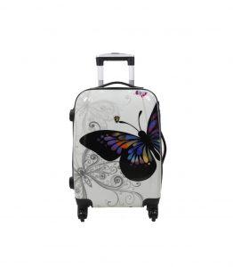 valise enfant cabine pas cher papillon madisson 55 cm