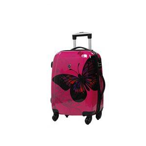 """valise cabine 55 cm """"Papillon"""""""