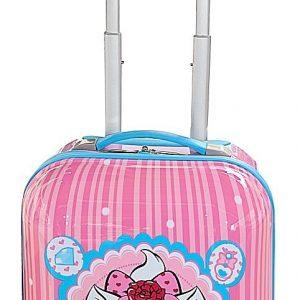 Valise cabine enfant rose pour fille