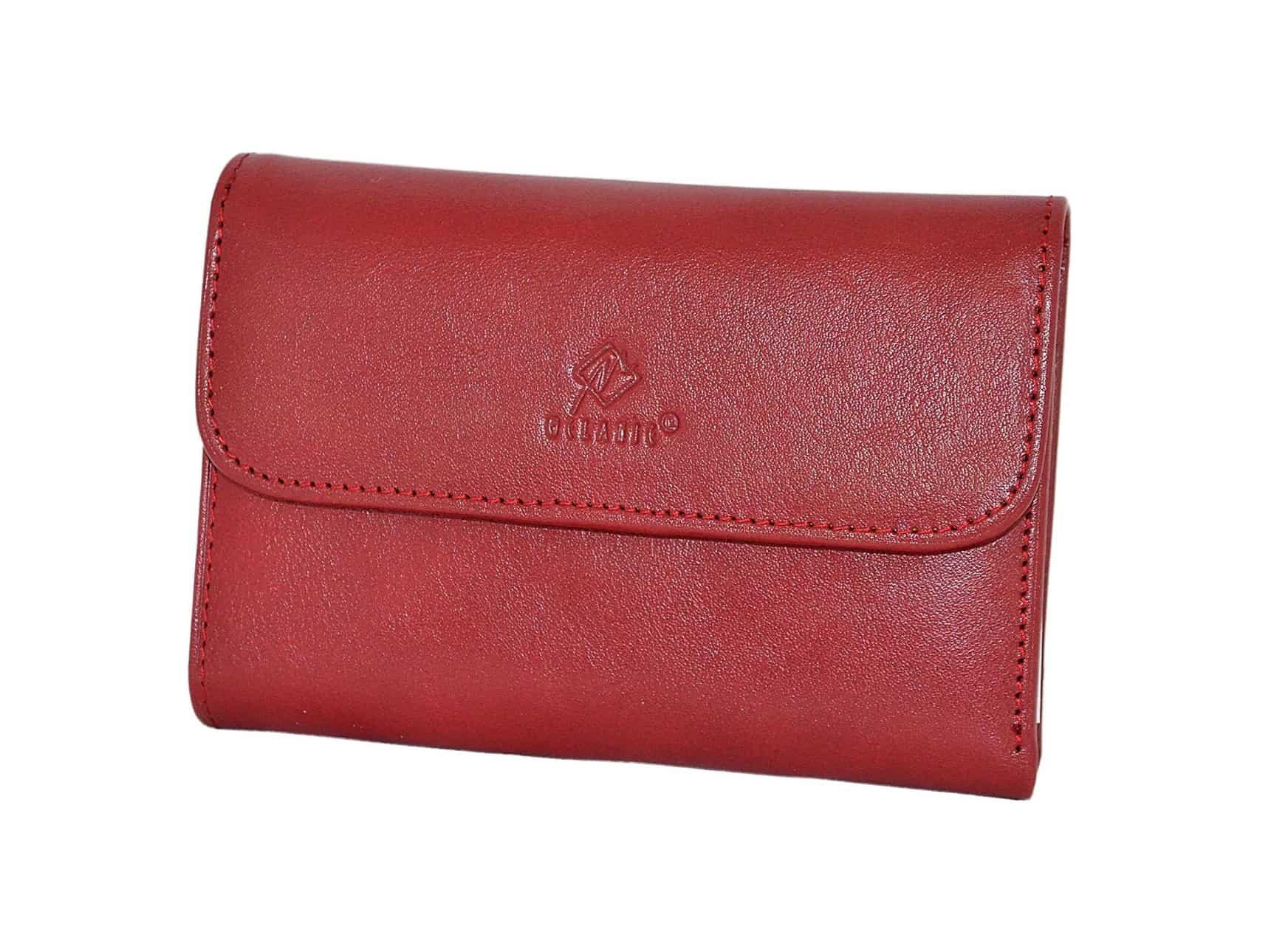 Portefeuille et porte monnaie en cuir femme