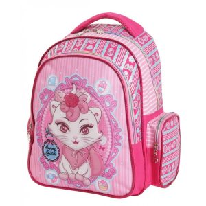 Petit sac à dos chaton rose pour fille