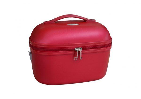 vanity case rigide rouge 31935