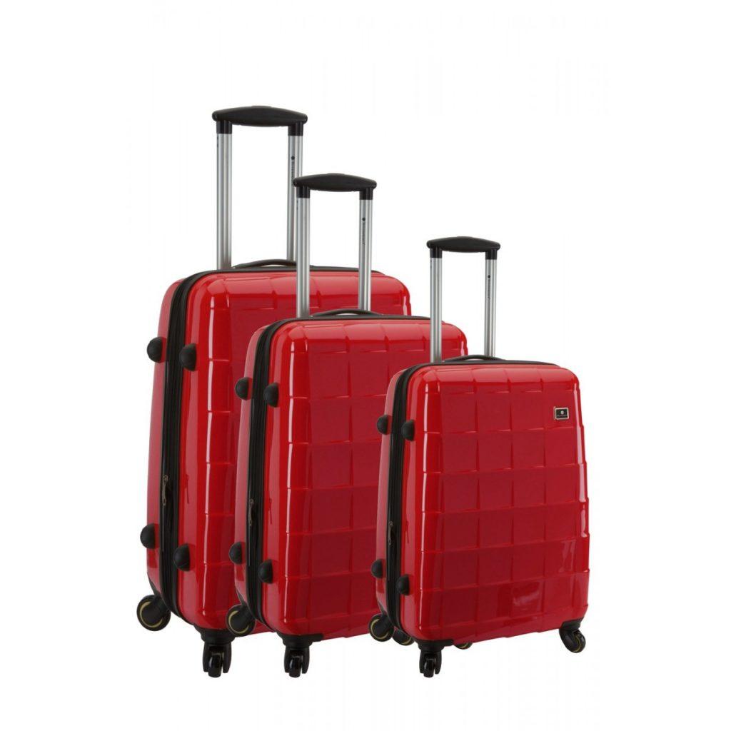 Set de 3 valises rigides à 4 roues Snowball