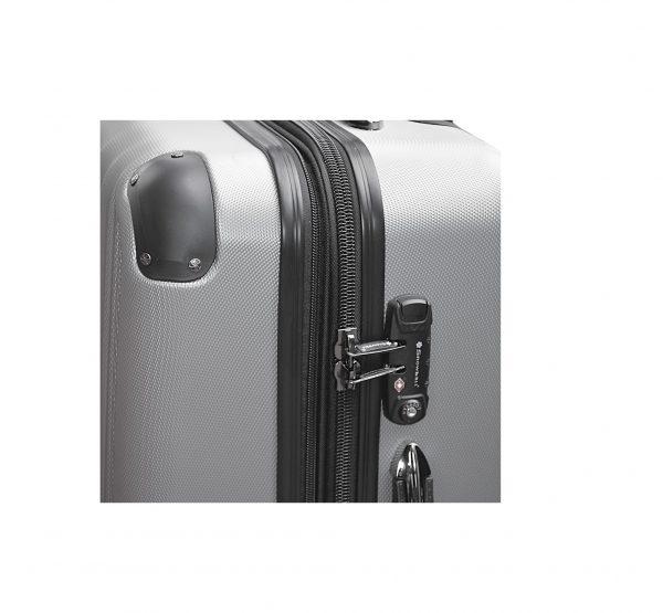 vente de valise rigide 75 cm snowball 51303t gris