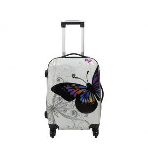 Valise cabine 4 roues Papillon