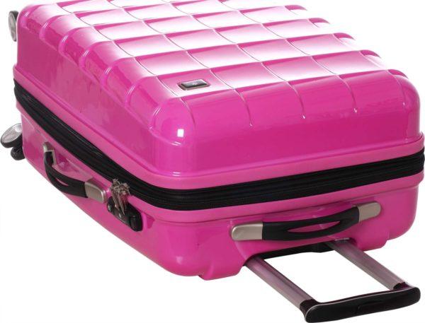 Lot de 3 valises rigides 4 roues pas cher -Snowball