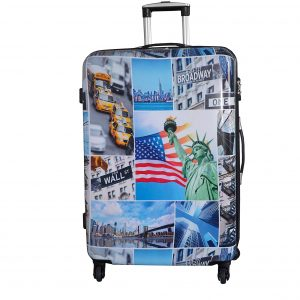 "Valise rigide 70 cm ""New York"""
