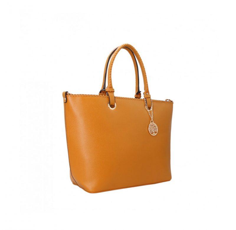 sac cabas tendance A4 camel