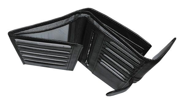 Portefeuille porte cartes chéquier en cuir femme katana