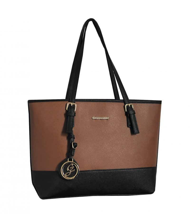 sac de cours gallantry pas cher pour femme noir marron