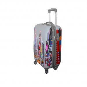 """Valise cabine 4 roulettes """"Time Square"""""""