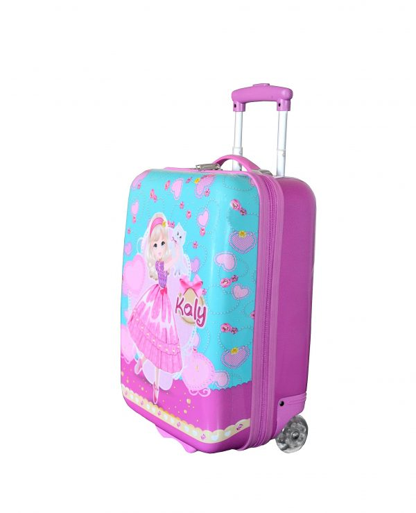 valise cabine fille violet rose madisson pas cher