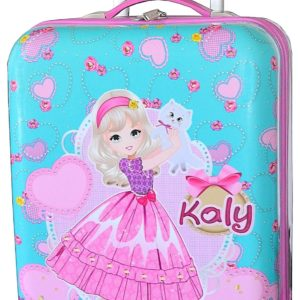 Valise cabine rose pour fille Madisson kaly