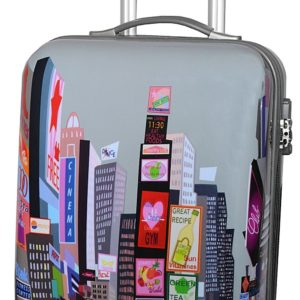 Valise cabine 4 roulettes pas cher Snowball Time Square