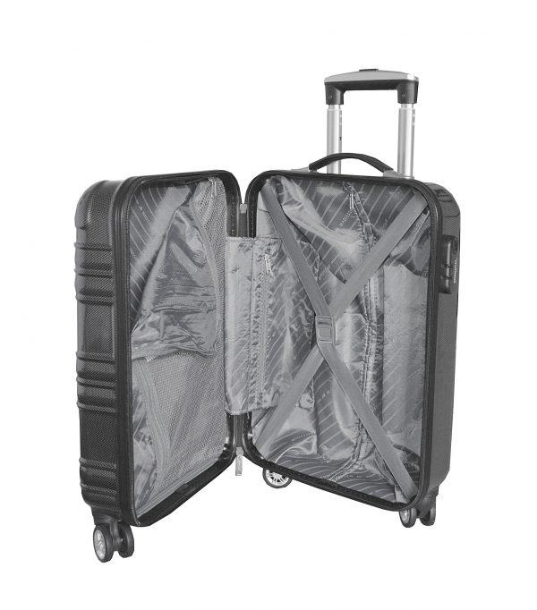 valise cabine pas cher gris madisson