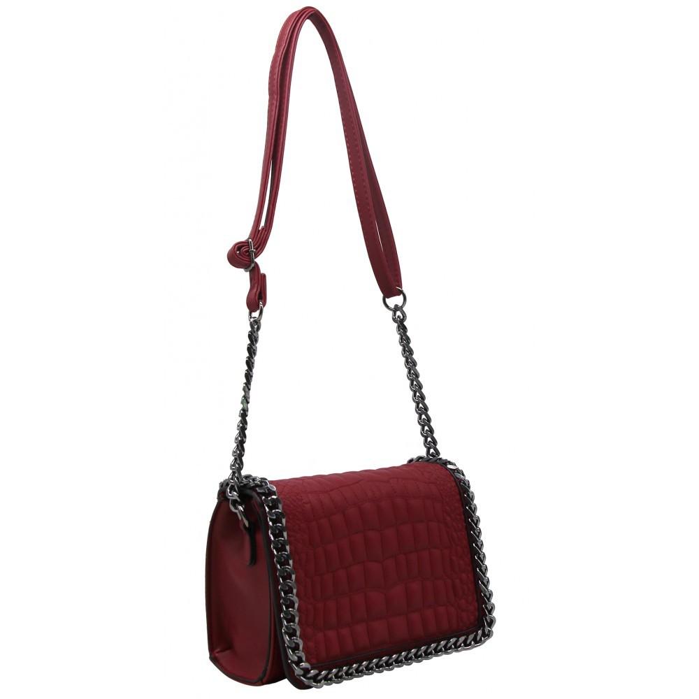 Petit sac à bandoulière chaînettes pour femme Be Exclusive.