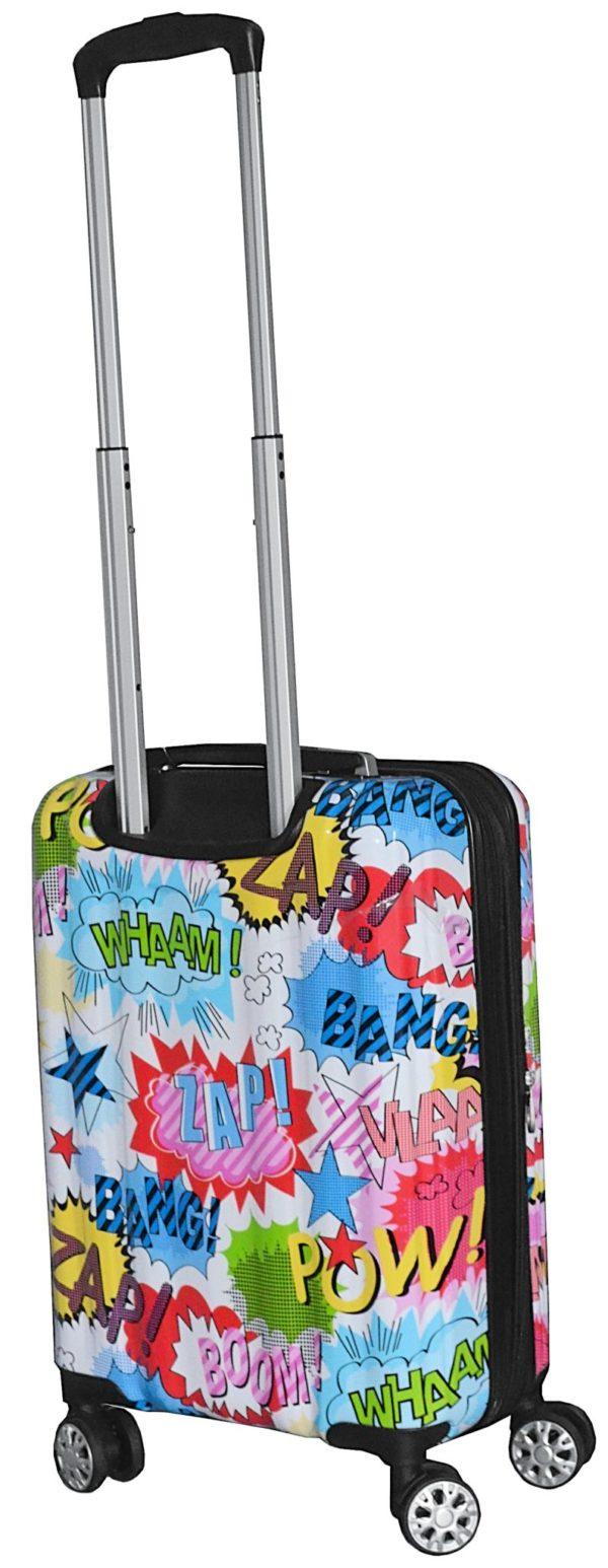 Valise cabine rigide 4 roues couleurs BD pas cher Airtex