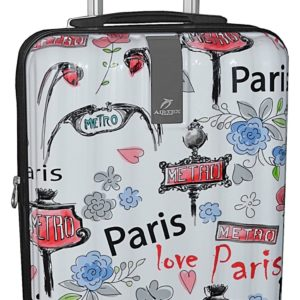 Valise cabine rigide Paris Love- Airtex.