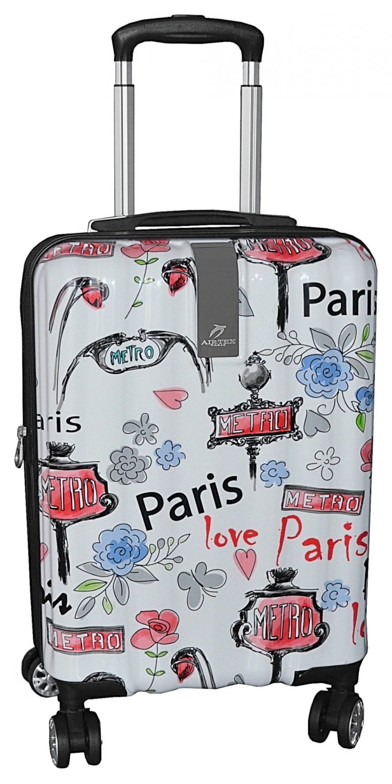 Bagages Airtex Paris Cher Valise Rigide Cabine Pas Love 7gY6yfvb
