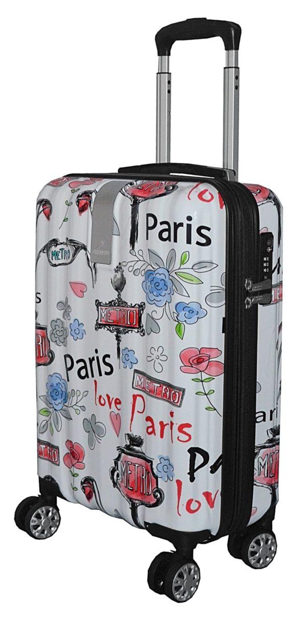 Valise cabine rigide Paris Love- Airtex.