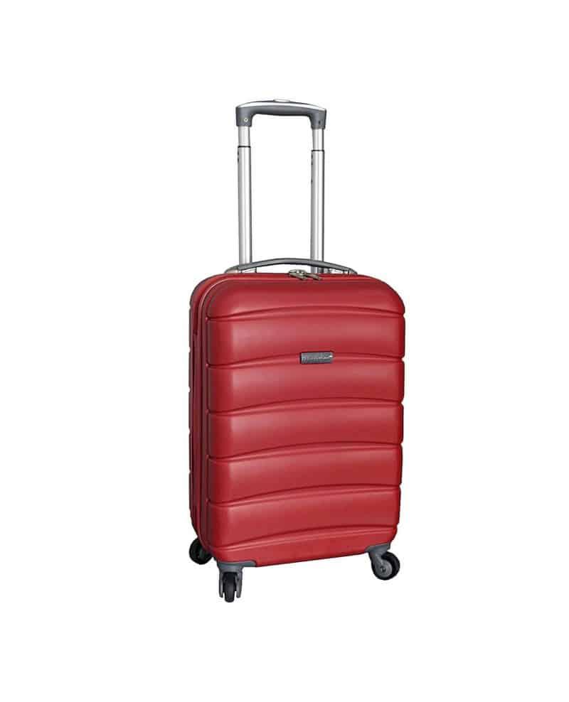 valise cabine 55 cm pas cher rouge snowball 53903 53