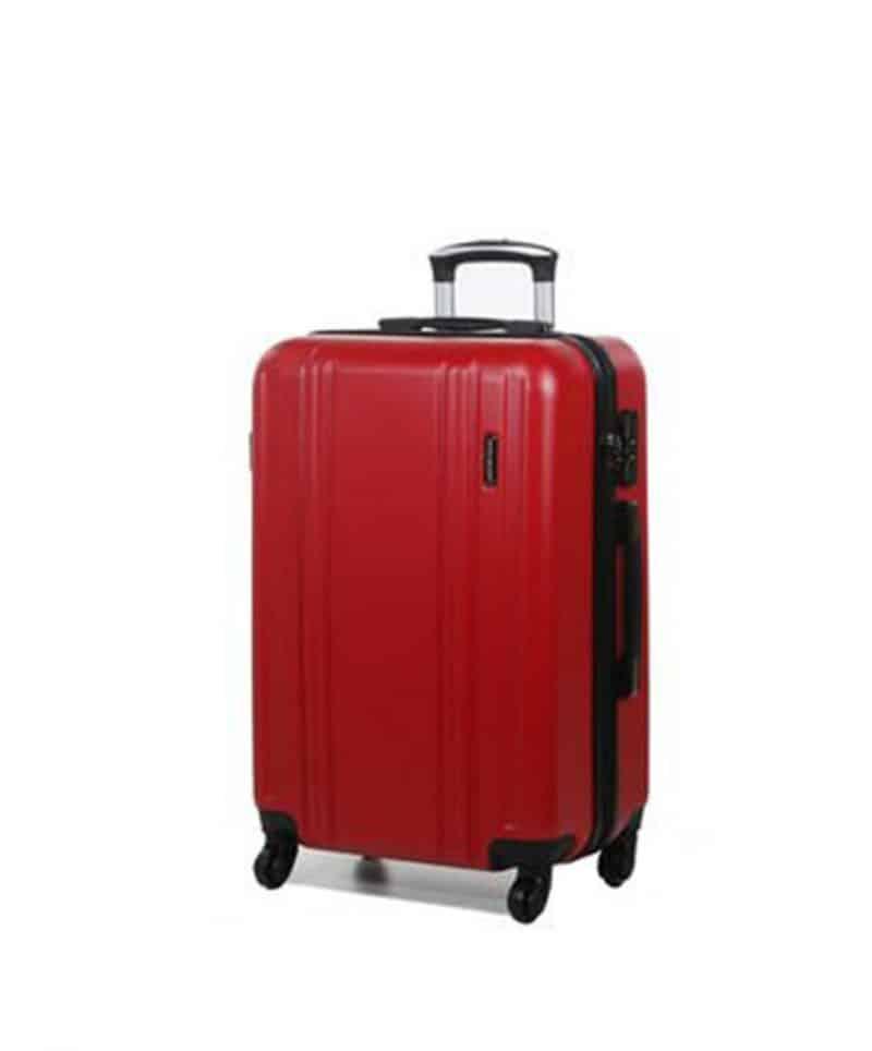 valise cabine 55 cm pas cher madisson rouge