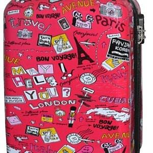 Valise cabine pour enfants motif  «Bon Voyage» 50 cm- Madisson.