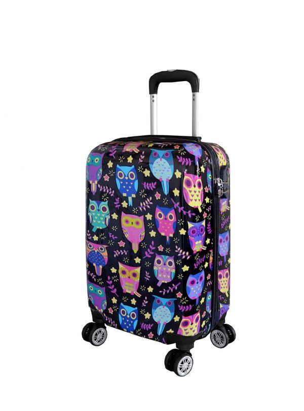 valise cabine enfant pas cher chouettes madisson