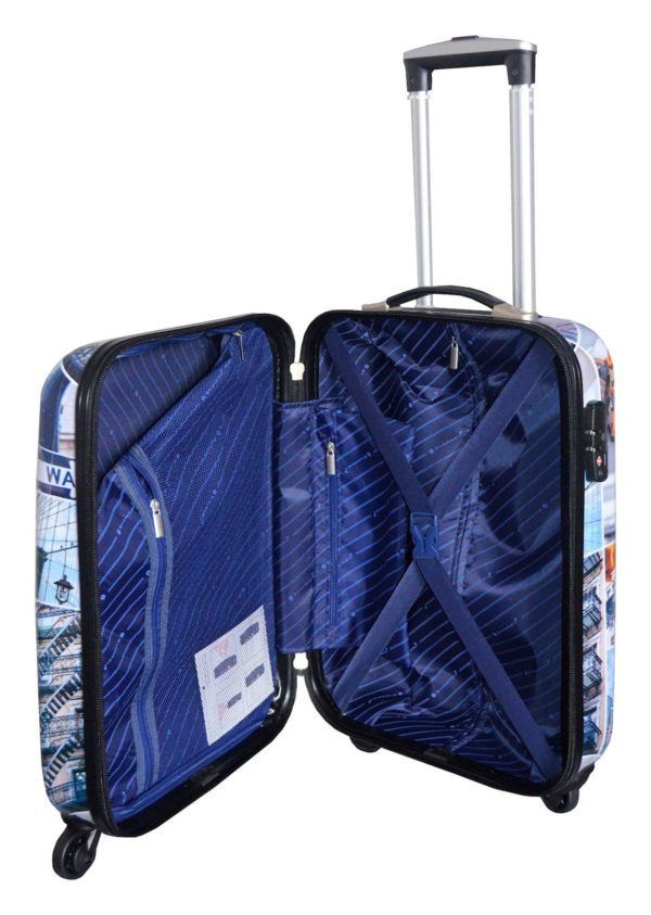 Ensemble de 3 valises rigides à 4 roues Snowball Broadway
