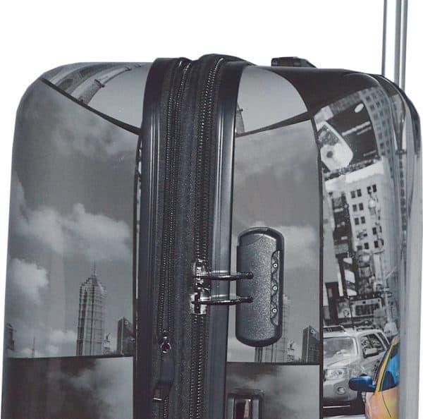 Valise rigide 70 cm à 4 roues en polycarbonate Skyros