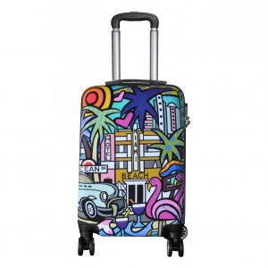 "Valise cabine rigide 55 cm ""Miami Beach"""