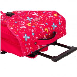 Cartable à roulettes Rose CM1 CM2