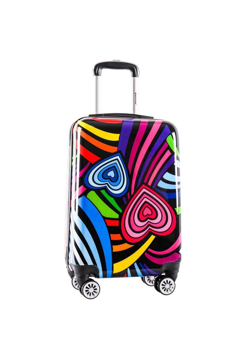 valise CABINE pas cher enfant madisson coeurs