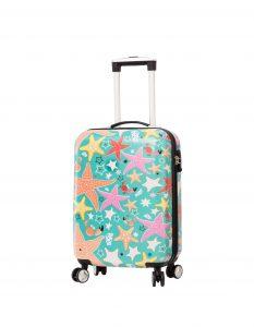 valise cabine pas cher Snowball vert 85803